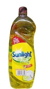 Sunlight Dish Washing Liquid Turbo Formula Lemon 750 ml