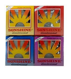 Sunshine Air Freshener Assorted 60 g x6