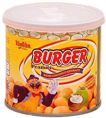 Tantan Burger Peanuts With Coconut Extract Tin 135 g