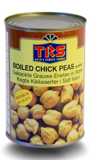 TRS Chick Peas In Salted Water 400 g