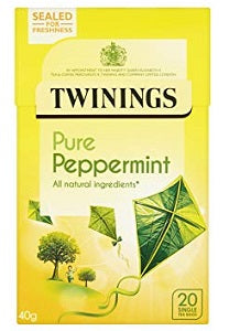Twinings Pure Peppermint Tea 40 g x20