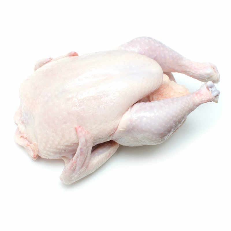 whole hard chicken