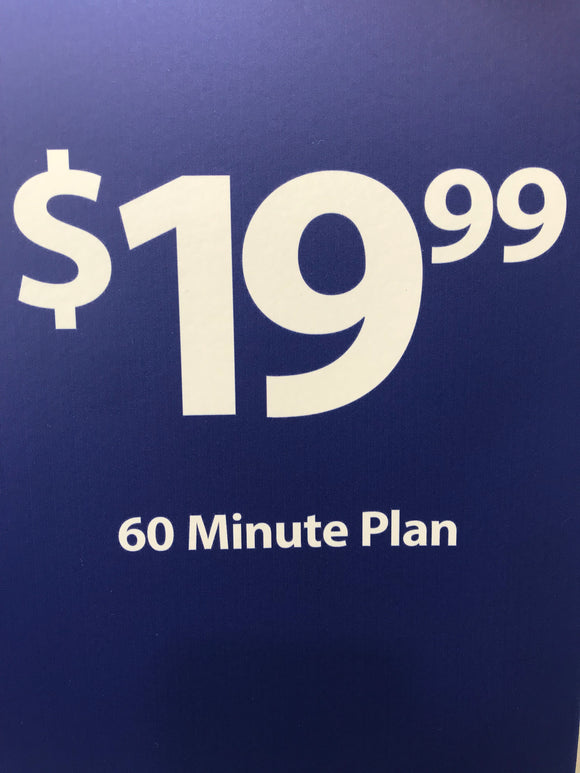 Tracfone $19.99 Plan