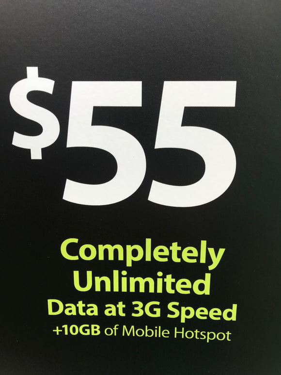 GoSmart Mobile $55 Plan