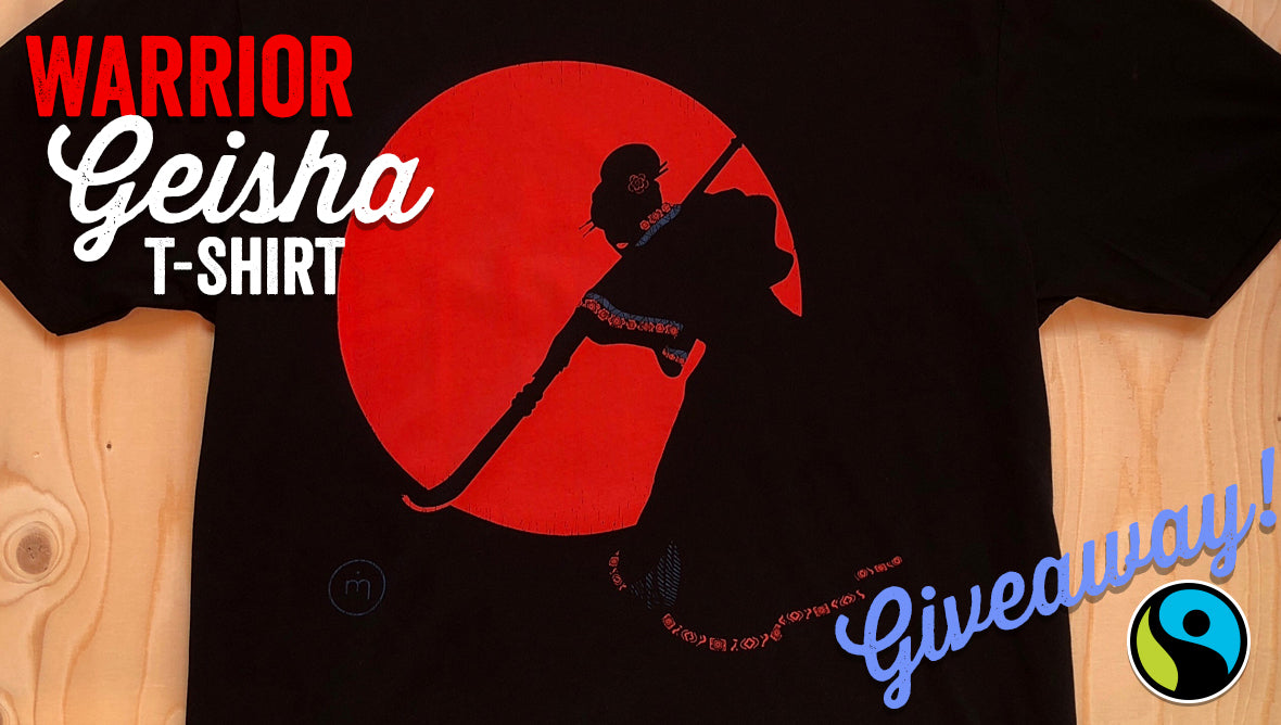 Warrior Geisha T-shirt Giveaway