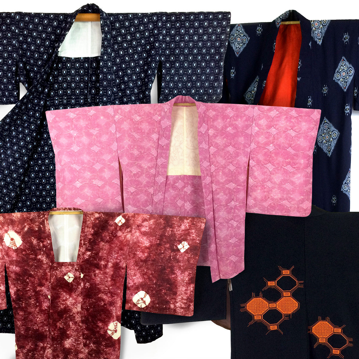 Some of our beautiful vintage kimonos