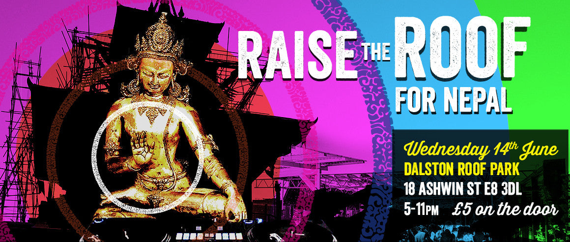 Raise the Roof for Nepal event banner