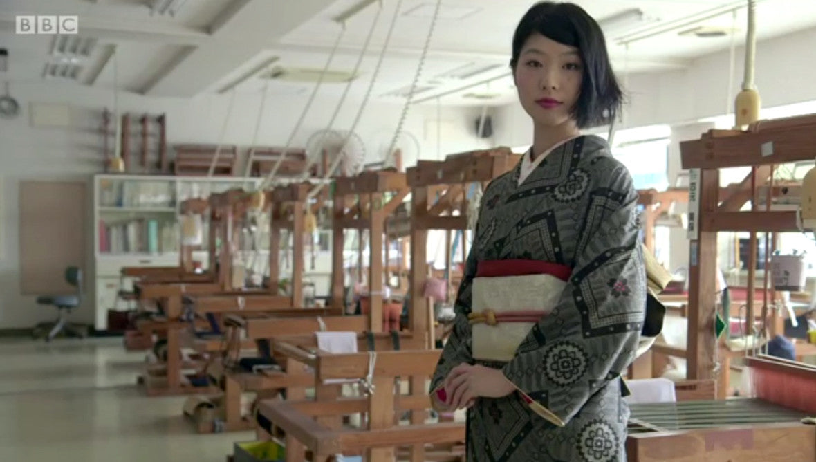 Each kimono takes up to a year to produce