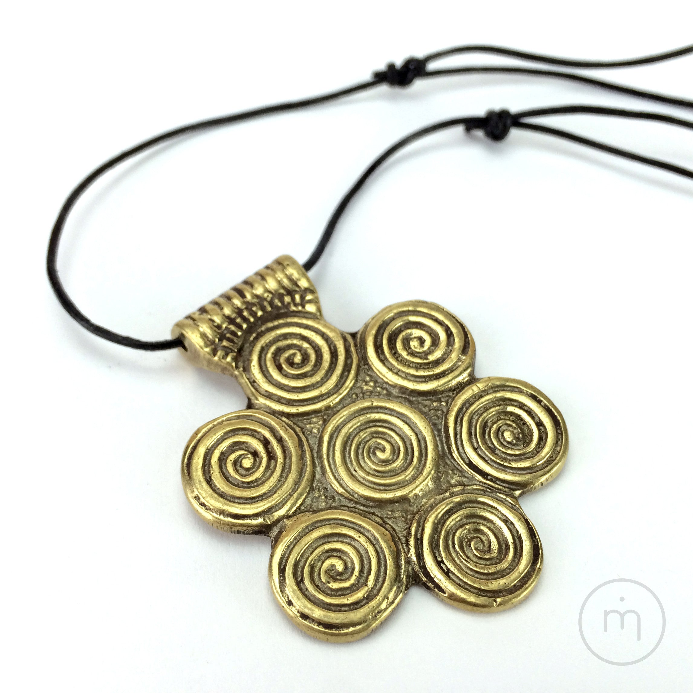 metalworks spiral pendant kenya merrill necklace jl product img