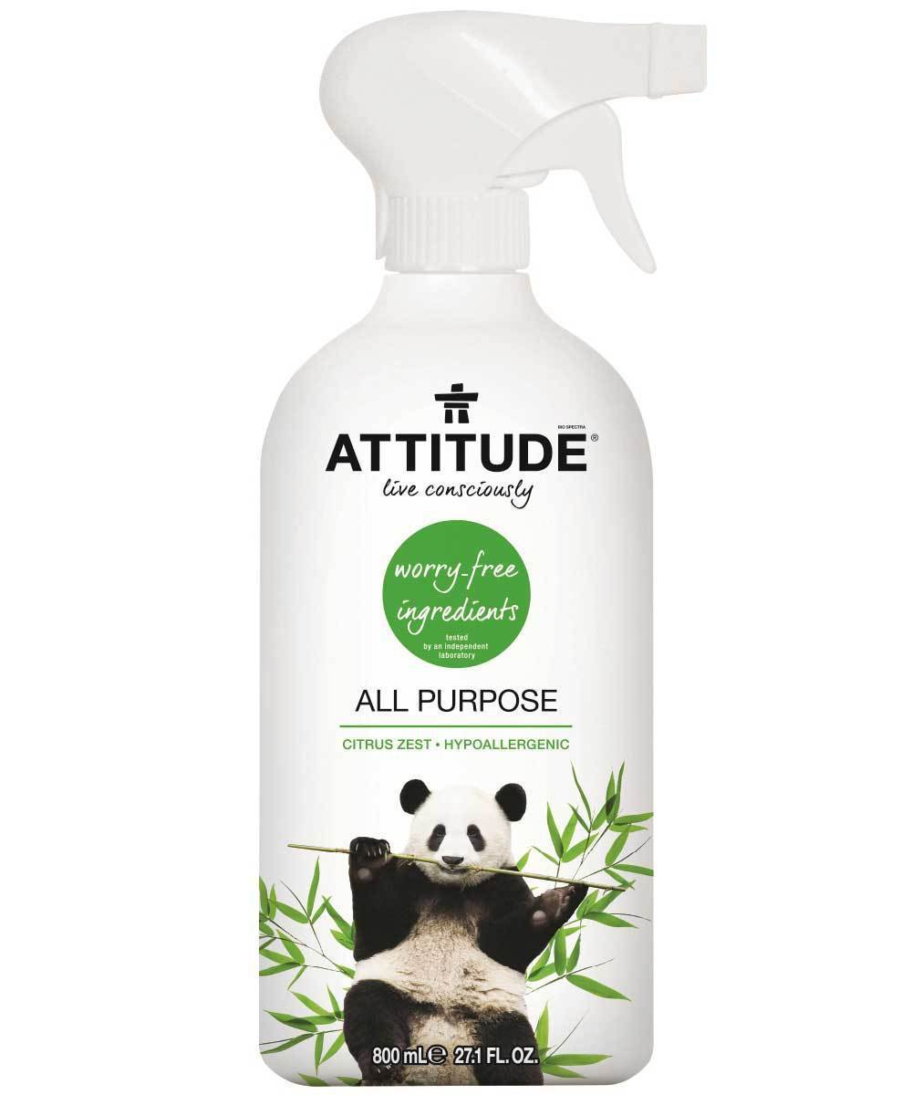 Attitude Canada- All Purpose Cleaner-Citrus Zest 800 ml (家居多用途清潔噴霧)