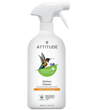Attitude Canada- Kitchen Cleaner -Citrus Zest 800 ml (廚房專用清潔噴霧)