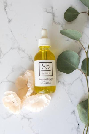 So Luxury Baby Body Oil- Natural 75ml (Unscented)