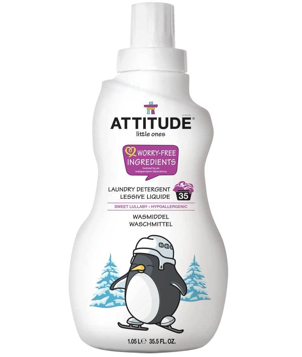 Attitude Canada- Little Ones Laundry Detergent- Sweet Lullaby- 35 loads, 1.05L (幼兒專用洗衣液-甜睡味道配方)