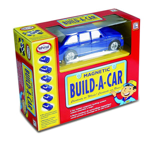 Popular Playthings Magnetic Build-A-Car 美國Popular Playthings磁石配對拼砌玩具-車