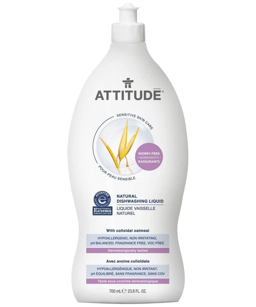 Attitude Canada- Sensitive Skin Dishwashing Liquid 700ml(敏感肌專用洗碗液)