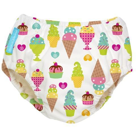 Charlie Banana USA Reusable Easy Snaps Swim Diaper Gelato Medium 環保可循環再用游泳褲(中碼)