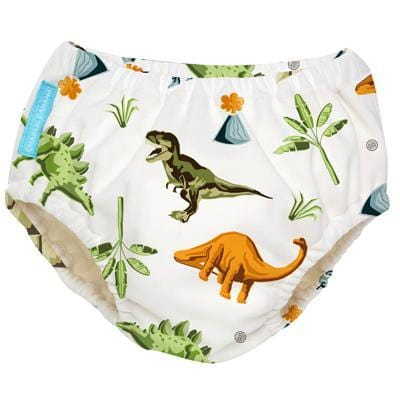 Charlie Banana USA Reusable Swim Diaper Dinosaurs Small