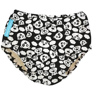 Charlie Banana USA 2-in-1 Swim Diaper & Training Pants Matthew Langille BlackBeary Medium 兩用泳褲及學習褲(中碼)