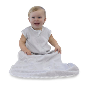 Bubba Blue Australia - Air+ Sleep Bag Grey (3-12 months) (澳洲Bubba Blue 透氣睡袋-灰色-3至12個月適用)