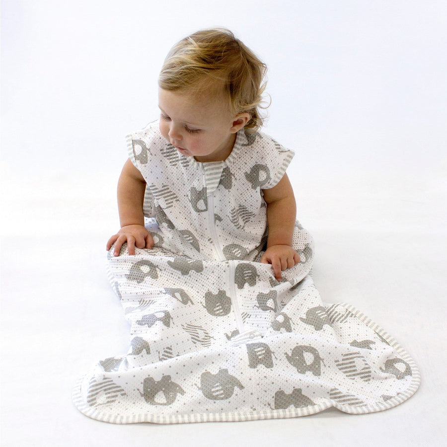Bubba Blue Australia - Air+ Sleep Bag Petit Elephant (3-12 Months) (澳洲Bubba Blue 透氣睡袋-大笨象圖案-3至12個月適用)