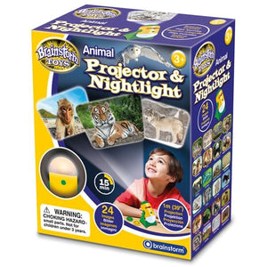 Brainstorm UK Animal Projector & Nightlight 英國Brainstorm Toys動物投影器&夜燈