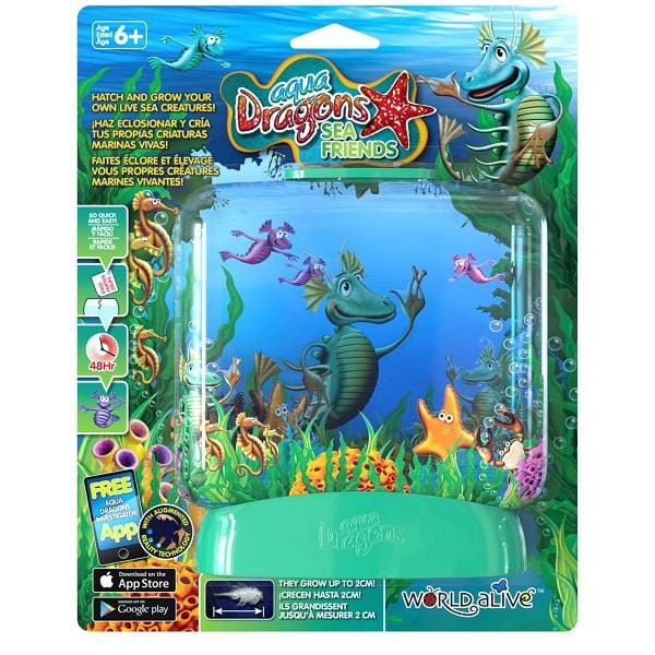 Brainstorm UK Aqua Dragons Sea Friends 英國Brainstorm Toys 飼養海馬水族館