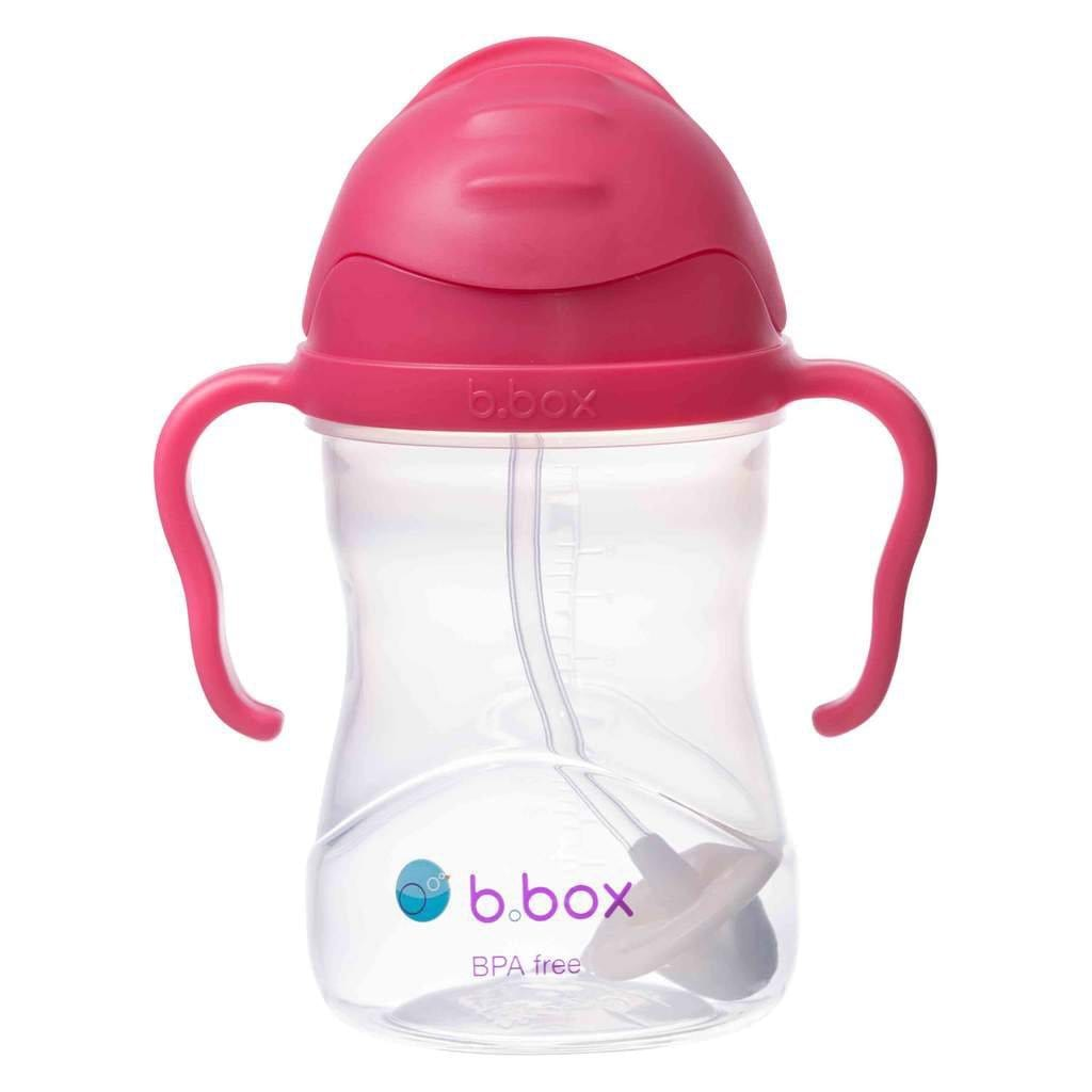 B.BOX Australia- Sippy Cup - Raspberry 澳洲B.BOX 兒童學習飲水杯(紅莓色)