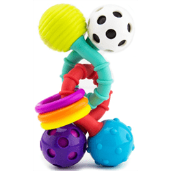 Sassy Baby USA-Bend & Twist Rattle 美國Sassy Baby嬰兒玩具