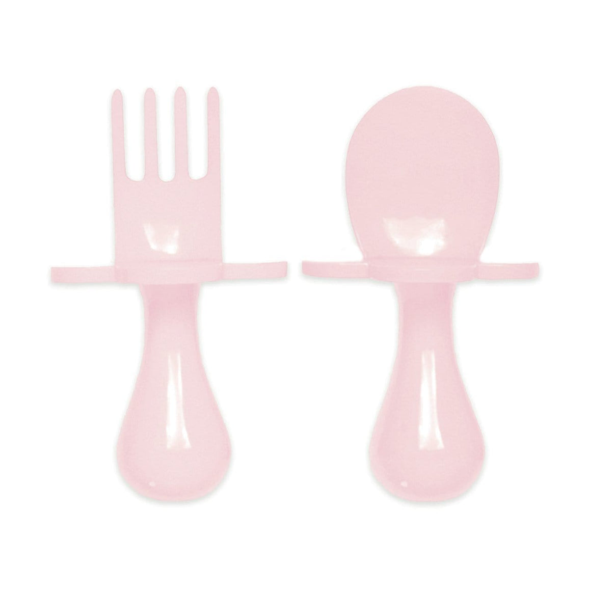 Grabease USA- Eating Utensils Set For Toddlers -Are You Blusing (Light Pink) 美國Grabease幼兒學習雲朵餐具-淺粉紅色