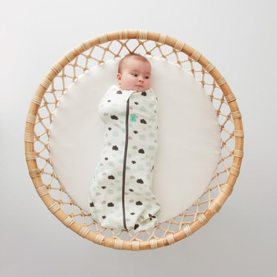 Ergo Pouch Australia Cocoon Baby Sleeping Bag (1.0 Tog) 3-12 Months - Clouds 嬰兒睡袋 (春夏季適用)