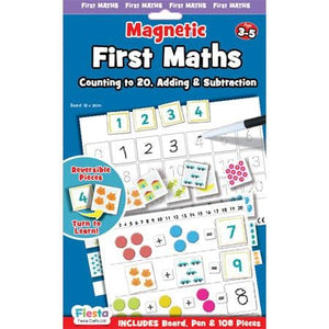 Fiesta Crafts UK- First Maths-Magnetic (英國Fiesta Crafts 基本加數磁石學習玩具)