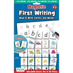 Fiesta Crafts UK- First Writing-Magnetic (英國Fiesta Crafts英文字母練習磁石玩具)