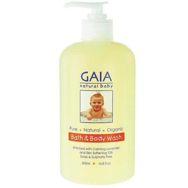 Gaia Natural Baby Australia - Bath & Body Wash 500ml (澳洲GAIA嬰兒有機-低敏沐浴露 500ml)