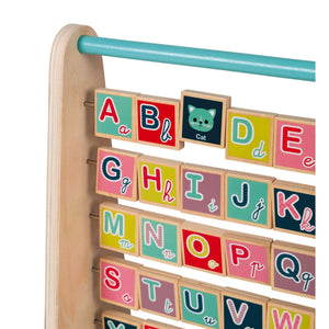 Janod France Baby Forest ABC Abacus Toy 法國品牌Janod ABC算盤