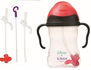 B.BOX Australia- Disney Sippy Cup + Replacement Straw and Cleaning Kit (Mickey) 澳洲B.BOX 兒童學習飲水杯+替換飲管+清潔套裝(迪士尼米奇老鼠)