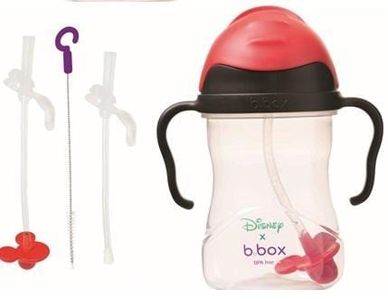 B.BOX Australia- Disney Sippy Cup + Replacement Straw and Cleaning Kit (Mickey)