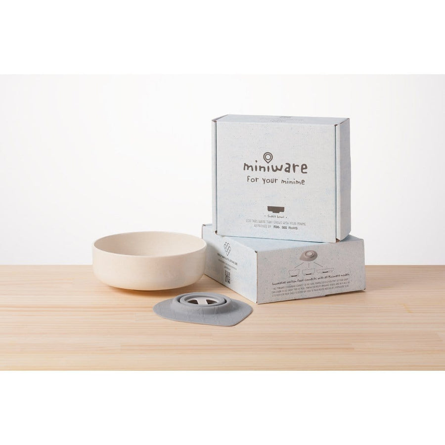 Miniware Taiwan Snack Bowl Set - Natural