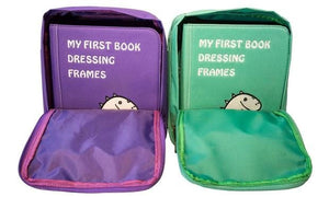 ELF Culture My First Book 2 – Dressing Frames - Purple (蒙特梭利布書- Book 2 衣服配搭穿着)紫色