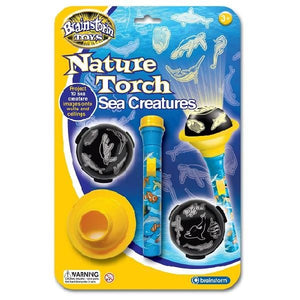 Brainstorm UK Nature Torch Sea Creatures 英國Brainstorm Toys海洋生態投影電筒