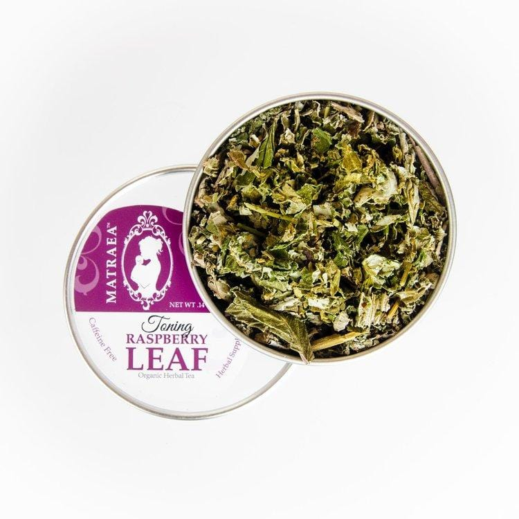 Matraea Canada - Organic Toning Raspberry Leaf Tea (產前營養沖泡飲品-無咖啡因)