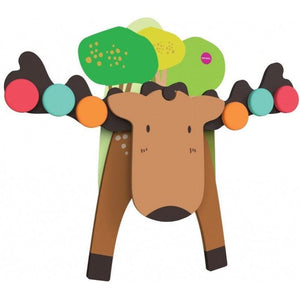 Oribel VertiPlay Wall Toy - Goofy Moose 貼牆玩具-麋鹿天秤