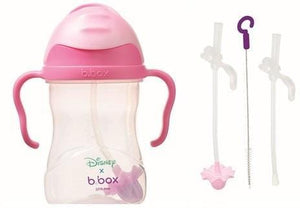 B.BOX Australia- Disney Sippy Cup + Replacement Straw and Cleaning Kit (Aurora) 澳洲B.BOX 兒童學習飲水杯+替換飲管+清潔套裝(迪士尼睡公主)