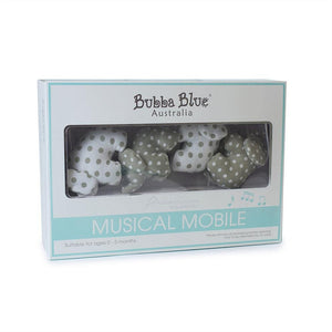 Bubba Blue Australia Petit Elephant Musical Mobile (澳洲Bubba Blue 休閒大笨象系列-床頭音樂掛飾)
