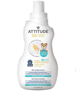 Attitude Canada- Sensitive Skin BABY Laundry Detergent ( Ezcema Friendly) 1L (敏感肌嬰兒專用洗衣液-濕疹肌膚適用)