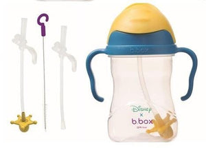 B.BOX Australia- Disney Sippy Cup + Replacement Straw and Cleaning Kit (Woody) 澳洲B.BOX 兒童學習飲水杯+替換飲管+清潔套裝(迪士尼無敵)