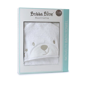 Bubba Blue Australia - Wish Upon a Star Novelty Hooded Bath Towel (澳洲Bubba Blue 星願小熊系列-新穎連帽浴巾)