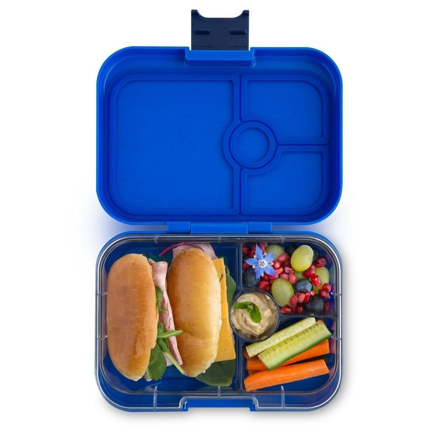 Yumbox Panino with Planet Tray Neptune Blue 4-Compartment Lunch Box