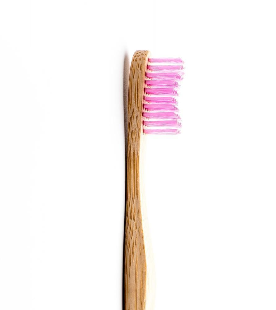 The Humble Co. Sweden- ToothBrush Adult-Soft bristles - Purple 瑞典品牌竹制成人牙刷-粉紫色
