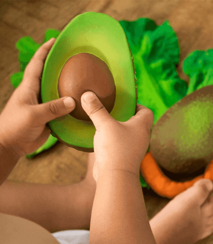 Oli & Carol Barcelona -ARNOLD THE AVOCADO Teether 西班牙Oli & Carol天然橡膠牙膠