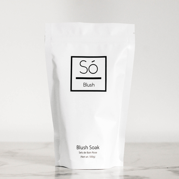 So Luxury Canada- Blush Bath Salt Bat- Big 500g 加拿大So Luxury浸浴鹽(無需過清水)
